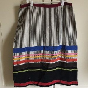 Anthropologie Neesh by DAR striped skirt. Large